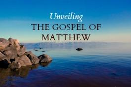 Gospel of Matthew cover graphic