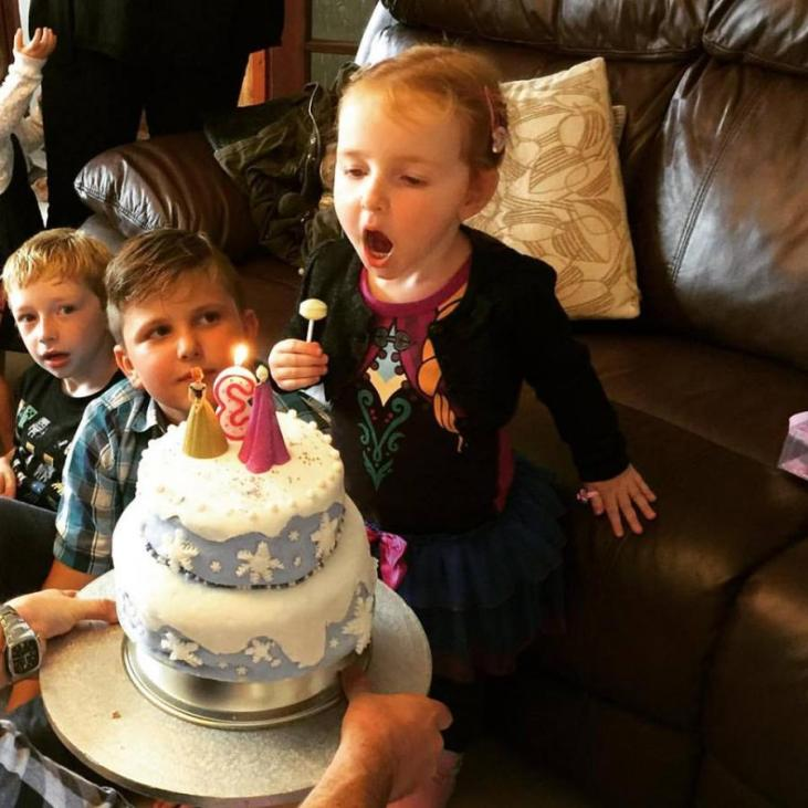 #MySundayPhoto - Blow The Birthday Candles Out!