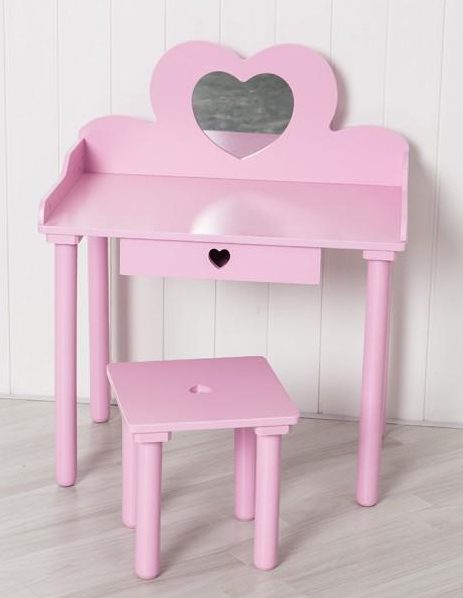 Perfectly Pretty With The Sue Ryder Pink Children's Dressing Table