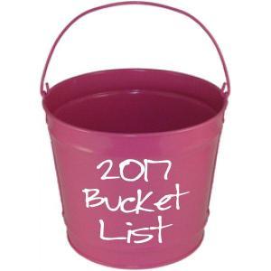 My 2017 Bucket List