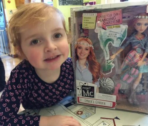 Hanging Garden Experiment With Ember The Project MC2 Experiment Doll