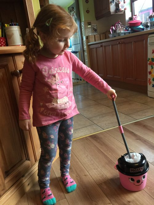 My Little Helper And The Casdon Hetty Mop And Bucket Set