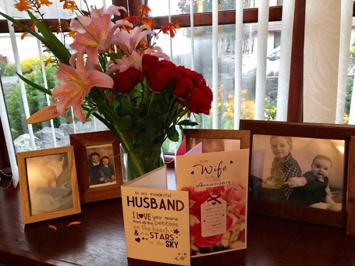 Happy Ten Year Wedding Anniversary & Happy New IPhone