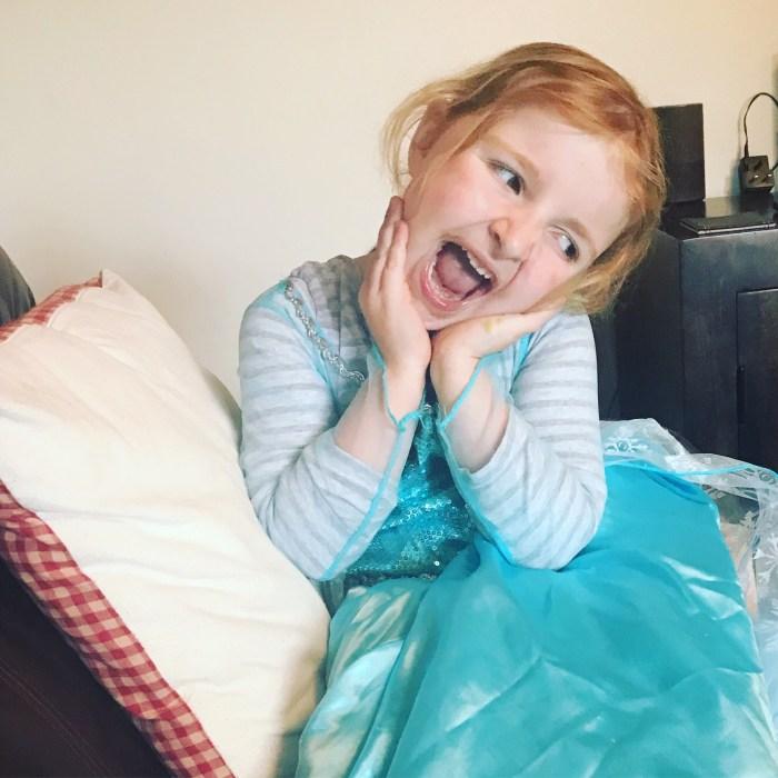 #LivingArrows -The Birthday Boy & Princess Elsa 21/53