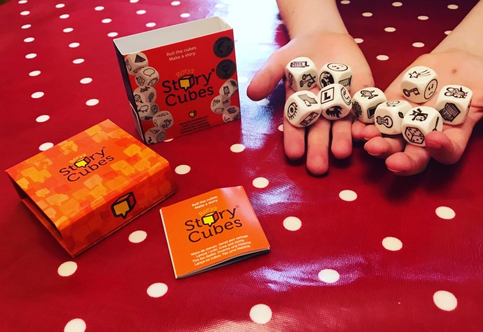 Telling Tales With Rory's Story Cubes