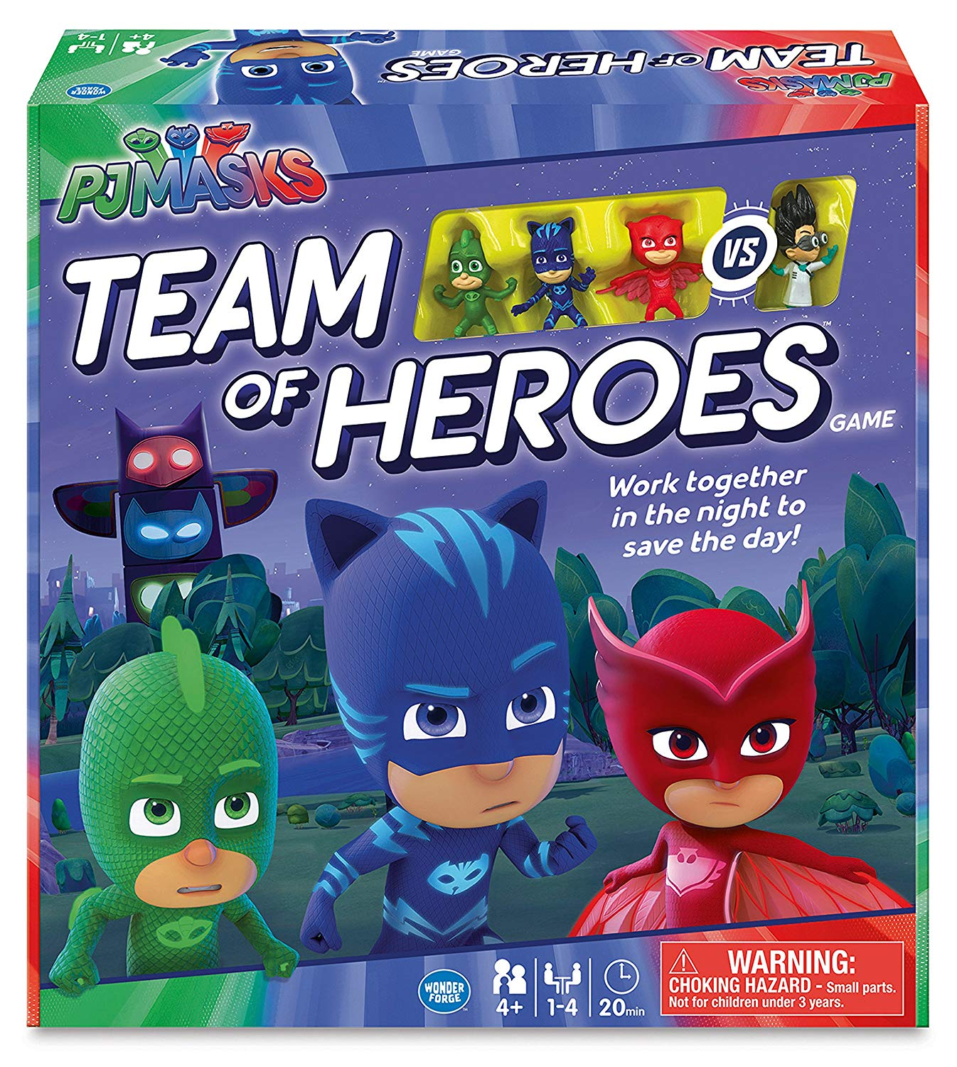 Playing 'PJ Masks Team Of Heroes'