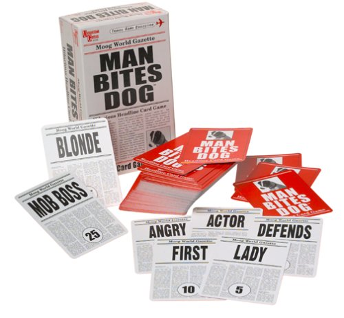 Crazy & Creative Card Games: SmartAss, Man Bites Dog & Switcheroo Review