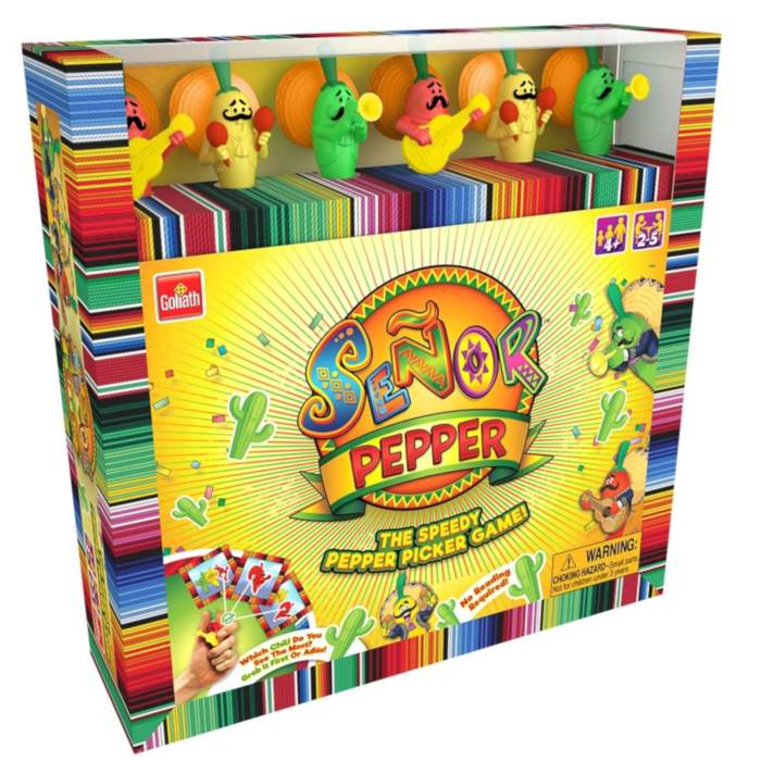 Senor Pepper - The 'Must Have' Grab & Go Game
