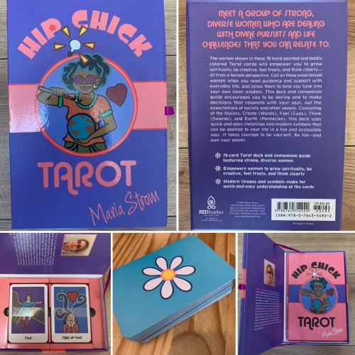 Reviewing & Reading The Hip Chick Tarot - A Deck For Divas Of The Divine