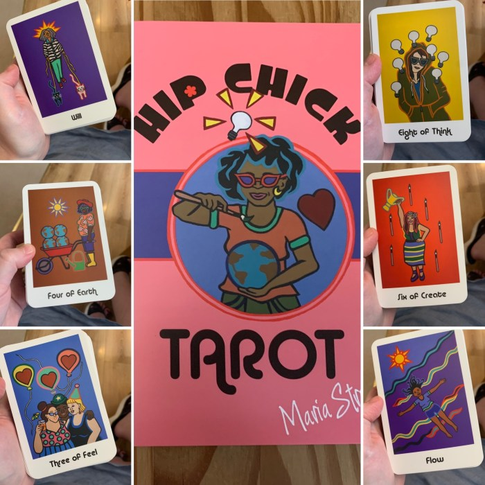 Reviewing & Reading The Hip Chick Tarot – A Deck For Divas Of The Divine