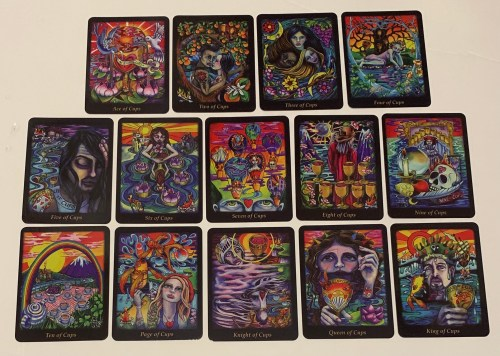 Reading & Reviewing The Bonefire Tarot