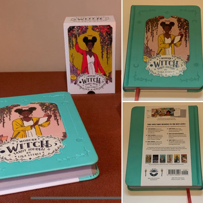Flicking Through The Modern Witch Tarot Journal