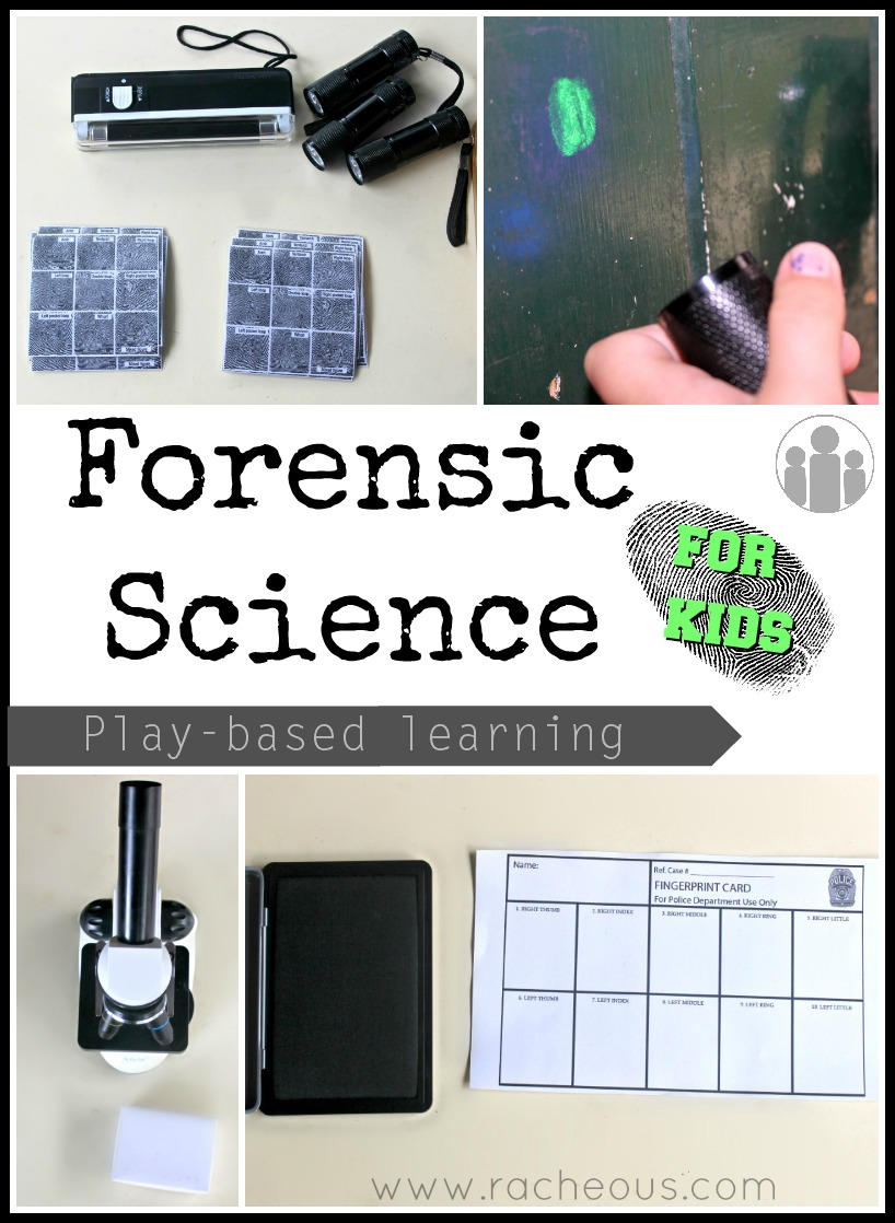 photo about Printable Fingerprint Card named Forensic Science for Little ones Enjoy-based mostly Finding out Racheous