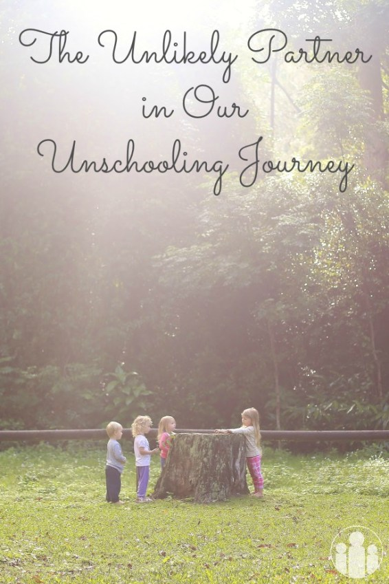 The Unlikely Partner in Our Unschooling Journey | Racheous - Lovable Learning Guest