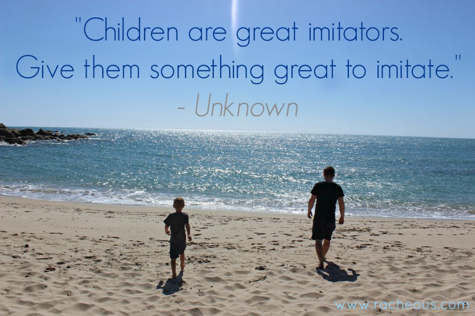 children imitators quote racheous