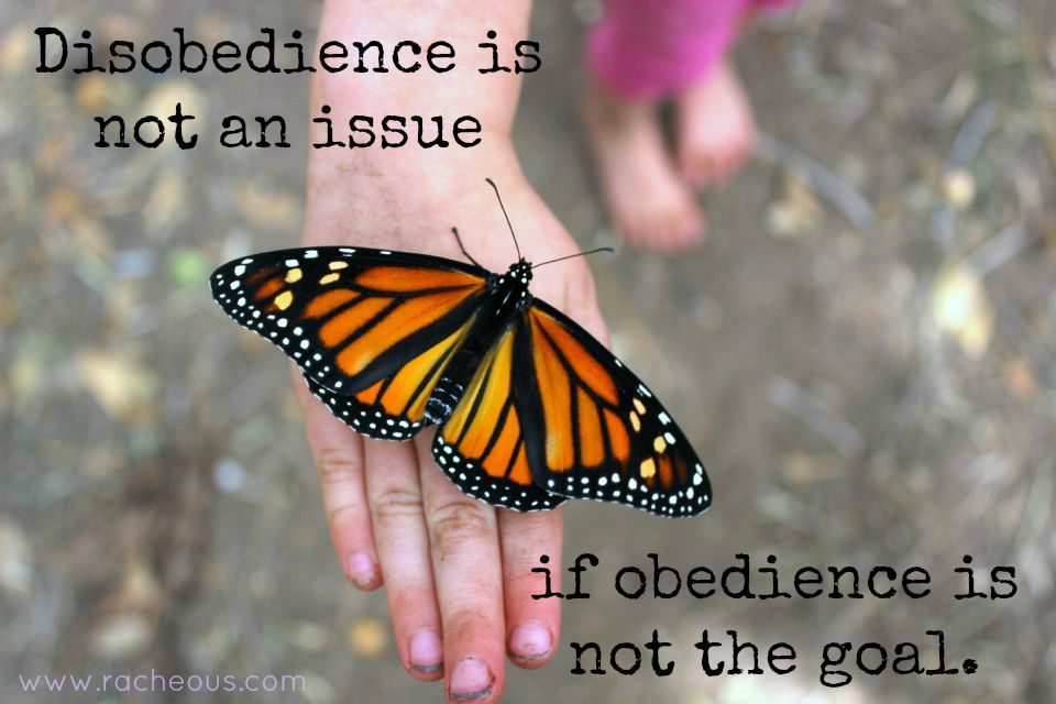 disobedience respectful parenting