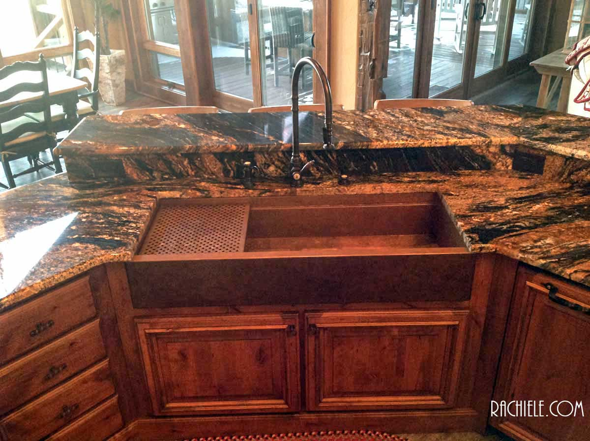 Copper Sinks Workstation Sinks With Cutting Boards And