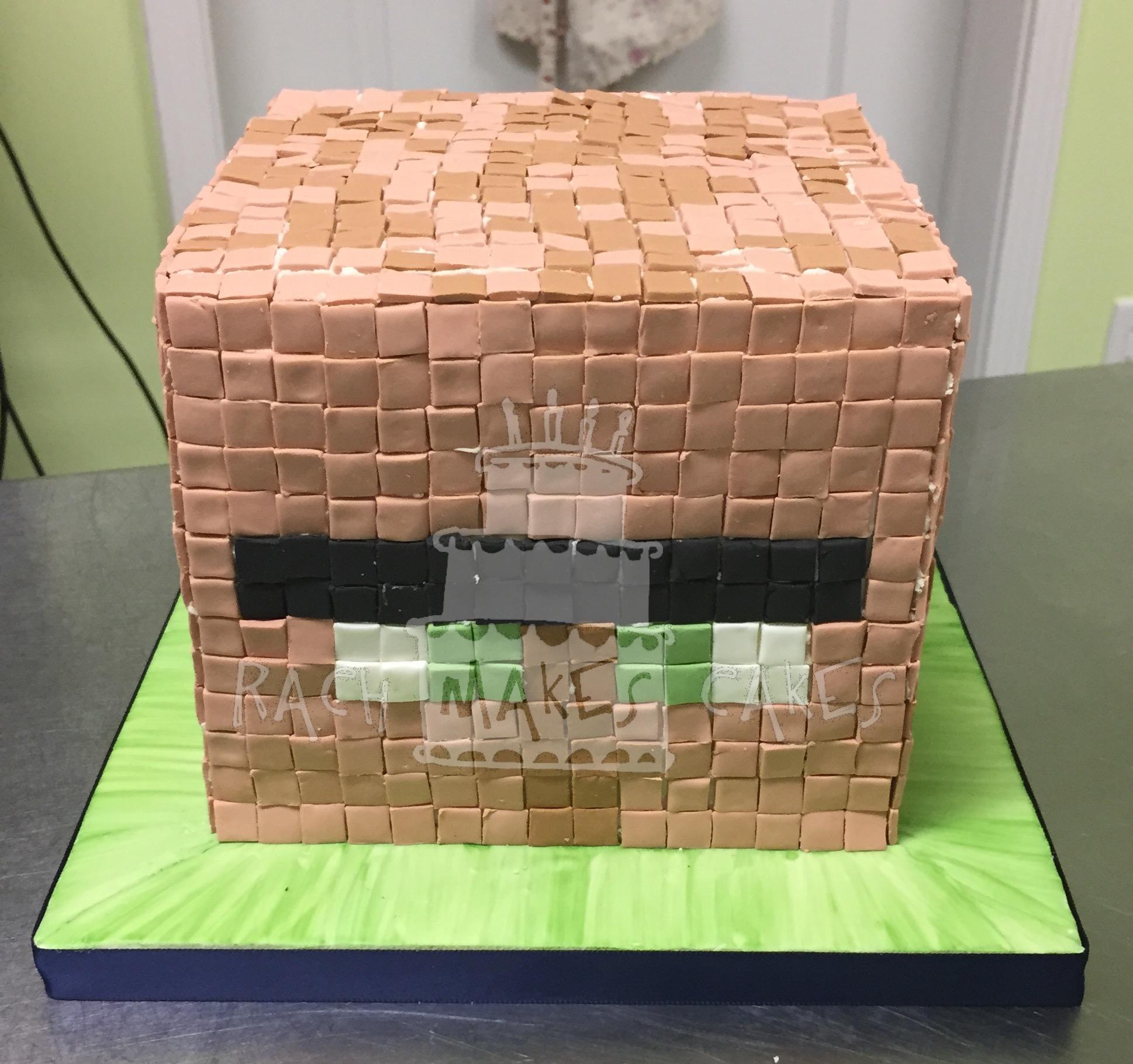 Minecraft Villager Cake Rach Makes Cakes
