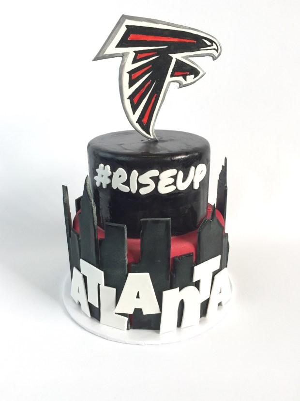 Atlanta Falcons Cake Rach Makes Cakes
