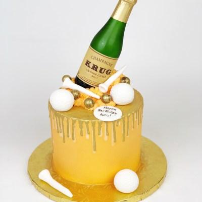 Cake Champagne My Favorite