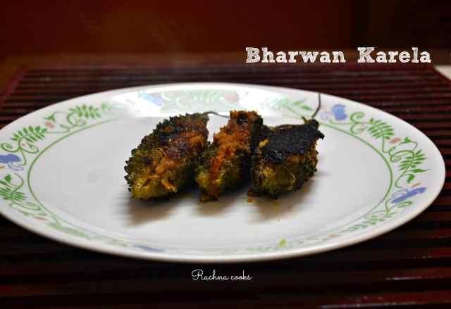 bharwan karela stuffed karela