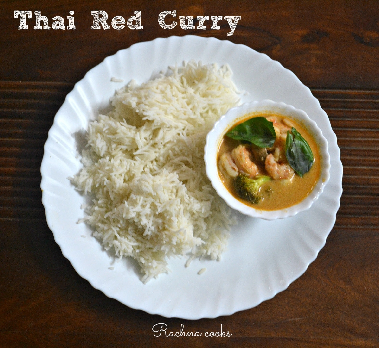 Thai Red Curry with Prawns Recipe