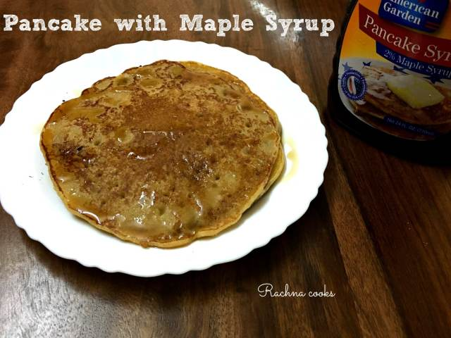 simplest pancake recipe