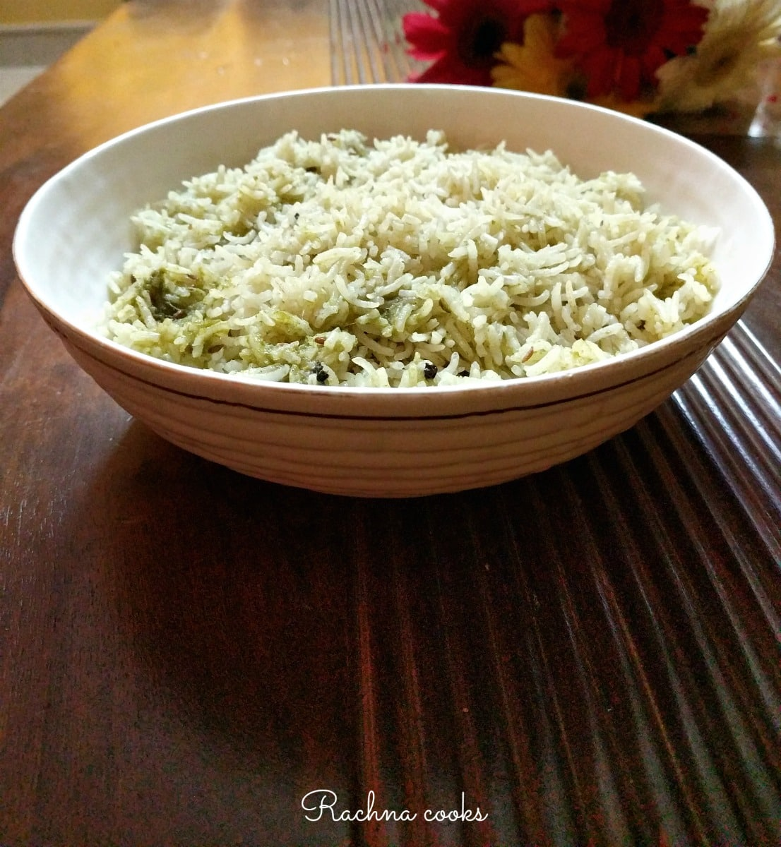 Mint Pulao | Mint Rice Recipe
