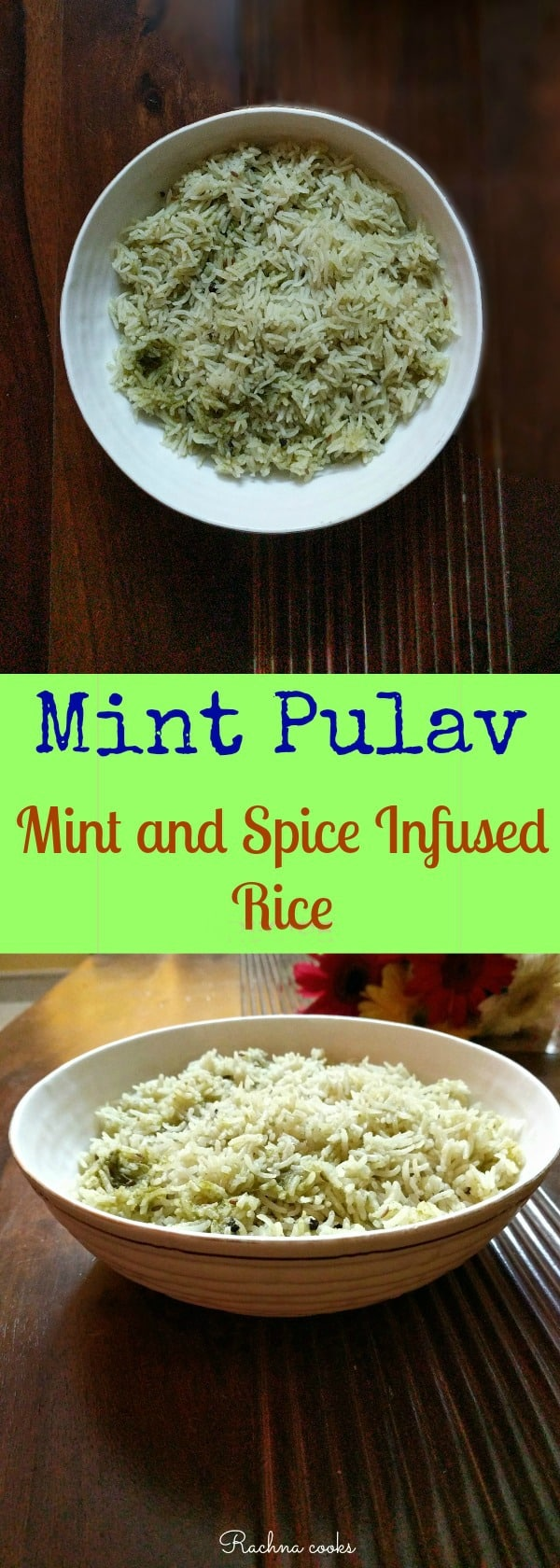 mint pulav mint rice