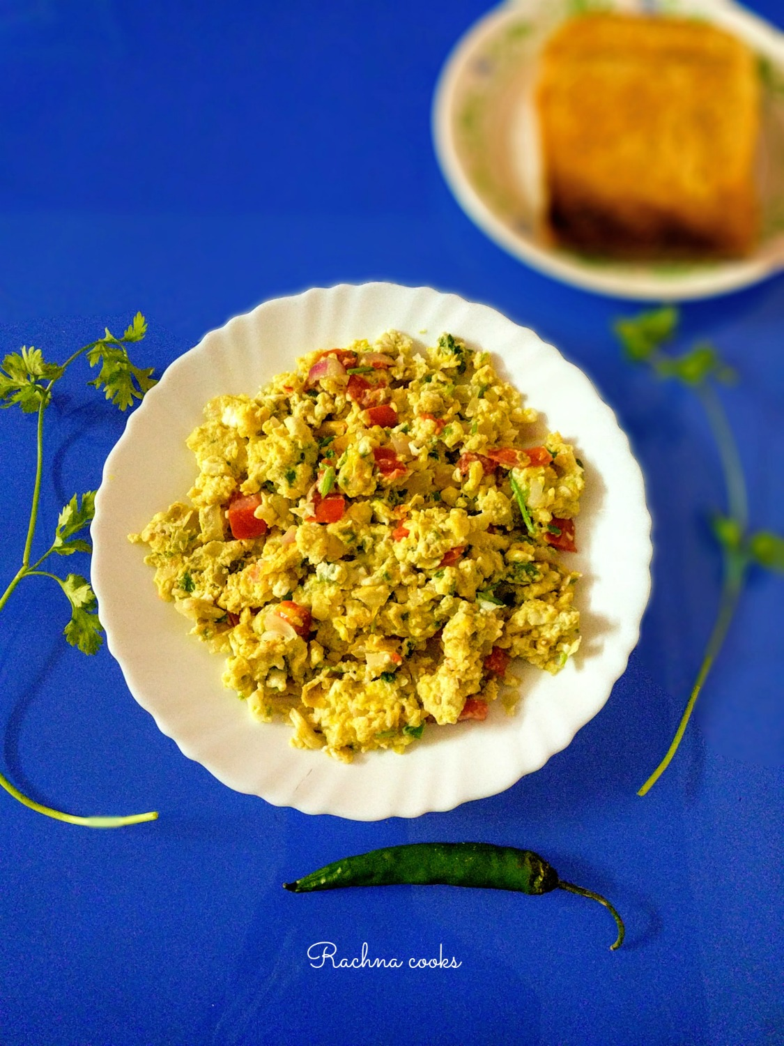 Masala Scrambled Egg | Egg Bhurji Recipe