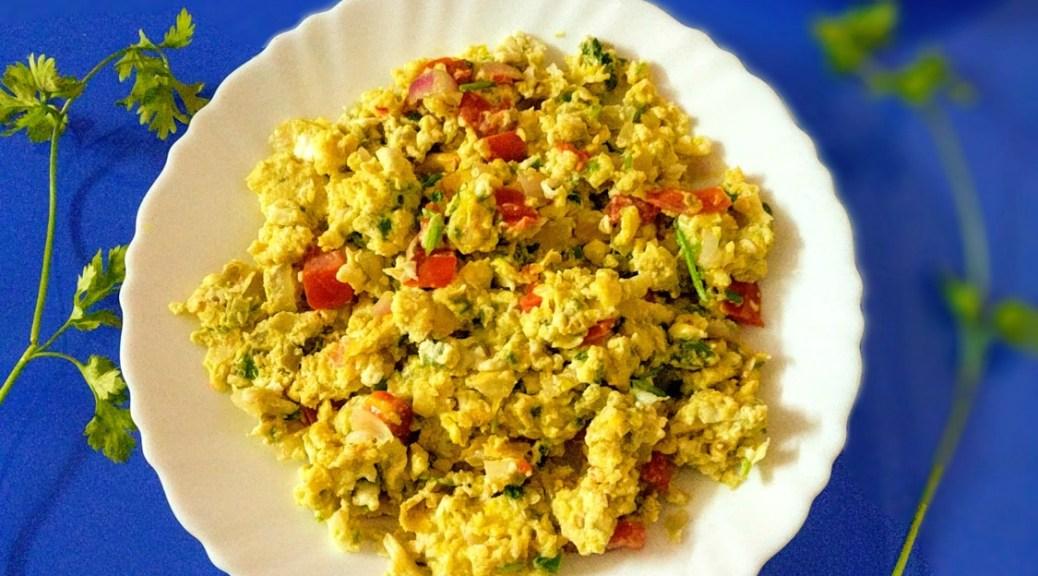 scrambled egss egg bhurji