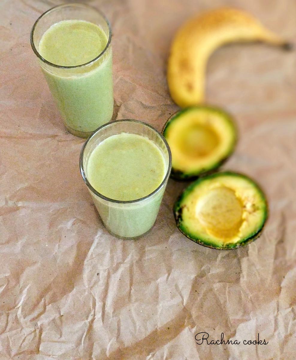 avocado banana smoothie