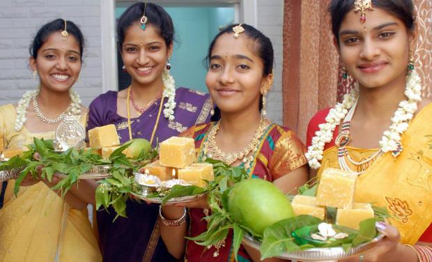 Image result for Images for Ugadi celebrations