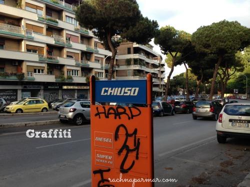 graffiti rome diaries