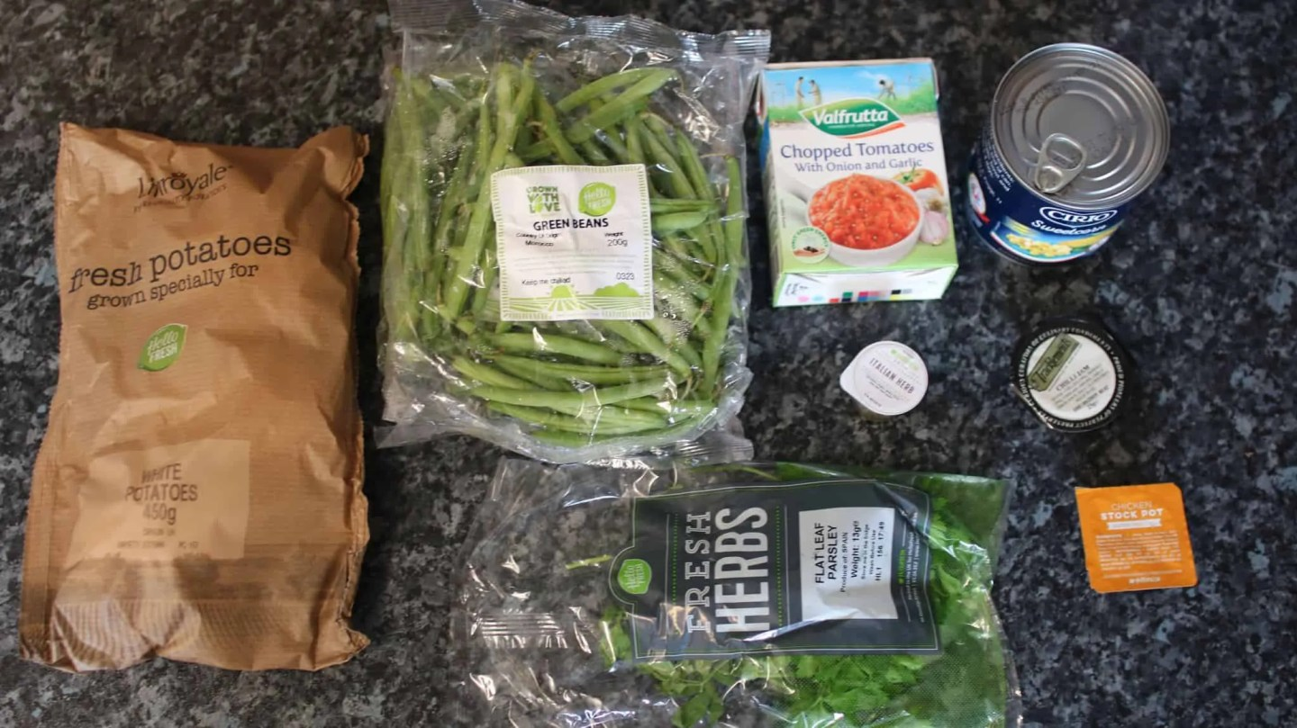 HelloFresh - Chicken Casserole