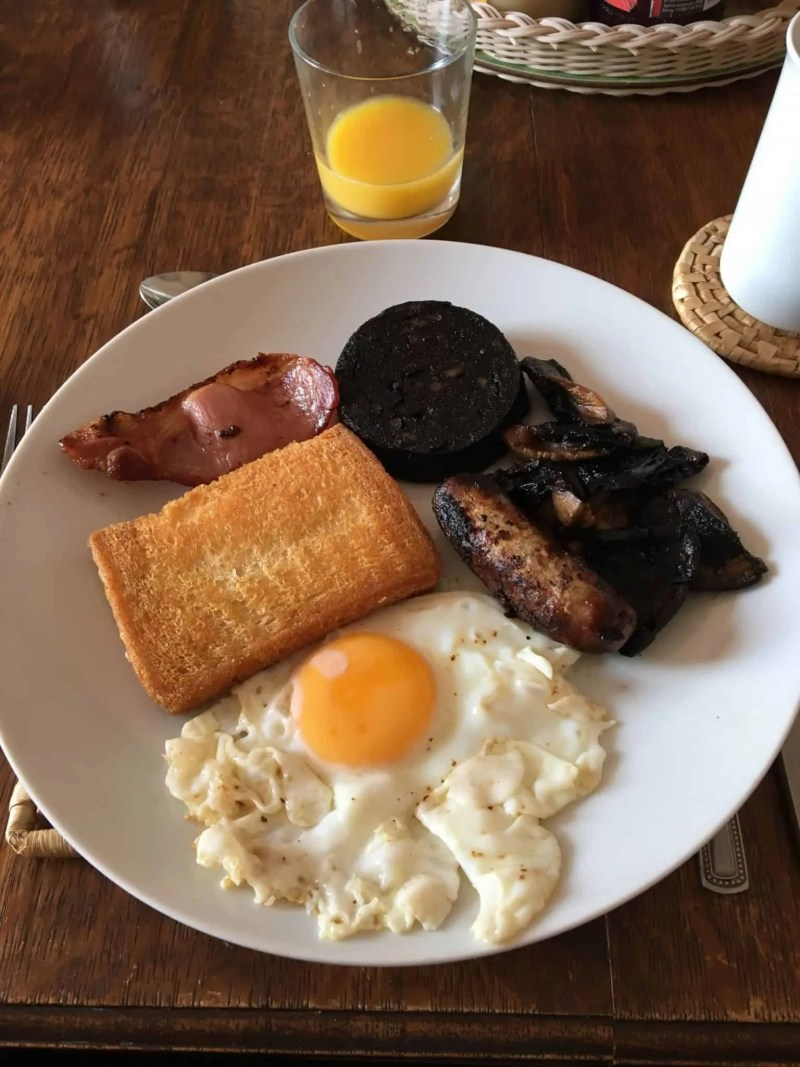 Full Cumbrian Breakfast