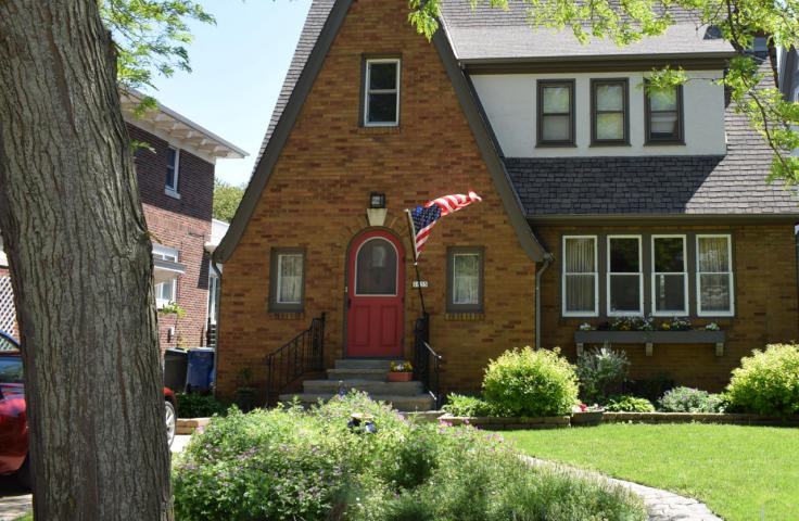 Historic Wisconsin Ave Home Drips Charm