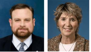 Cory Mason Sandy Weidner mayoral candidates