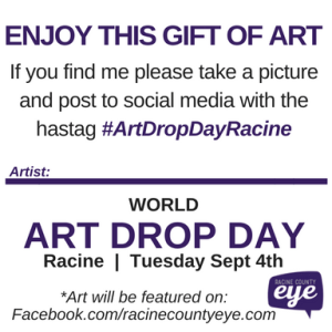 art drop day