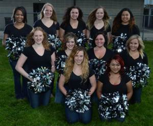 2014 Racine Raiders Dance and Stunt Team