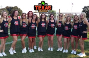 Texas Roadhouse Donation Night for Raiders Dance and Stunt Team