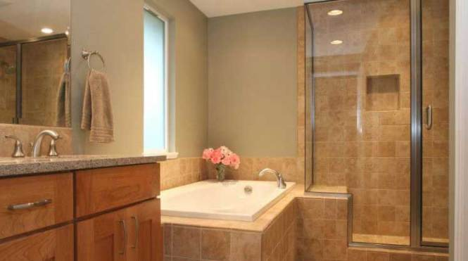 newly remodel half bathroom stone countertop installers kenosha wisconsin granite kitchen