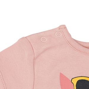 Body Rose Retro - GOTS - Biologique - Economique - Bébé