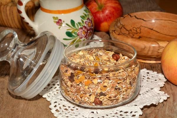 Muesli Frühstück Gesund und Leistungsorientiert