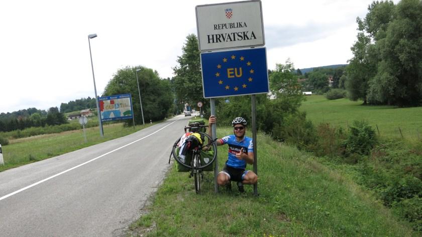 Kroatische Grenze