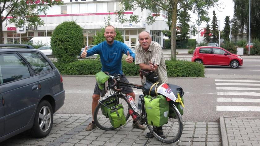 Ankunft und Ziel in Ingolstadt