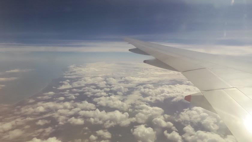 Anflug Neuseeland