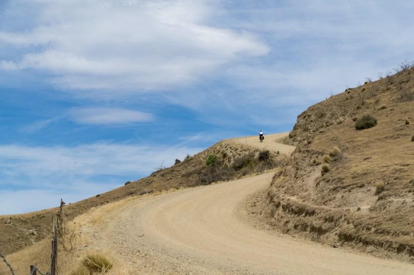 Aufstieg zum Duffers Saddle