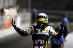 Alonso siegt in Singapur 2008