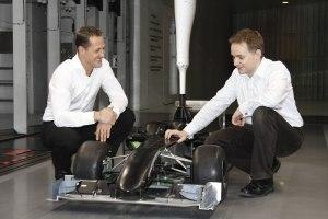 Michael Schumacher Joins MERCEDES GP PETRONAS b